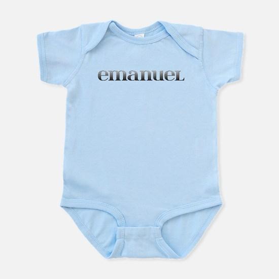 Emanuel Carved Metal Infant Bodysuit