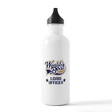 Loan Officer Gift (Worlds Best) Sports Water Bottle