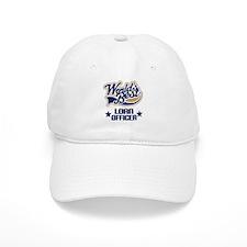Loan Officer Gift (Worlds Best) Baseball Cap