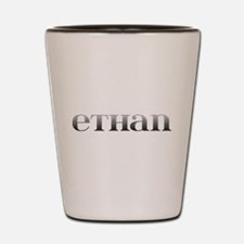Ethan Carved Metal Shot Glass