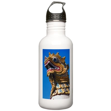 Thai Temple Guard Stainless Water Bottle 1.0L