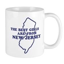 The Best Girls are from New Jersey Mug