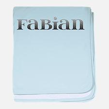 Fabian Carved Metal baby blanket