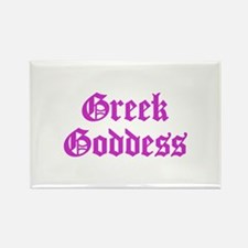 Greek Goddess Rectangle Magnet