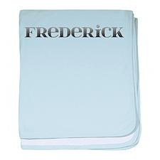 Frederick Carved Metal baby blanket