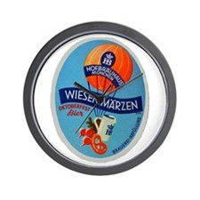 Germany Beer Label 2 Wall Clock