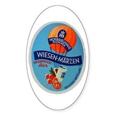 Germany Beer Label 2 Decal