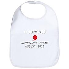 I survived Hurricane Irene Bib