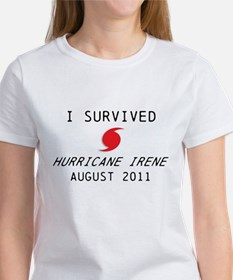 I survived Hurricane Irene Women's T-Shirt