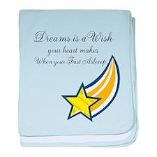 Cute Make a wish baby blanket