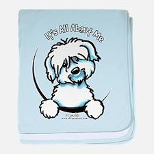 Coton de Tulear IAAM baby blanket