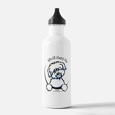 Coton de Tulear IAAM Water Bottle