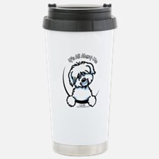 Coton de Tulear IAAM Stainless Steel Travel Mug