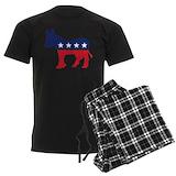 Democratic party Men's Pajamas Dark