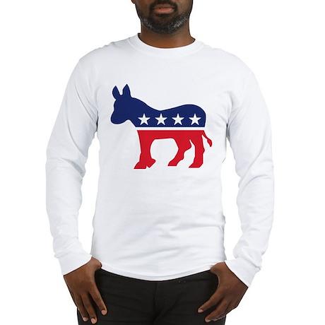 Democrat Donkey Long Sleeve T-Shirt