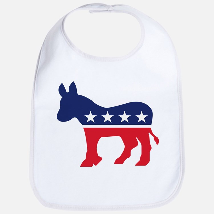 Democrat Donkey Bib