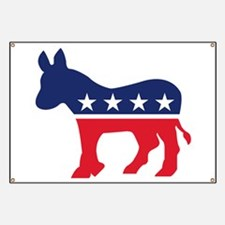 Democrat Donkey Banner
