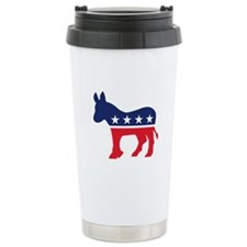Democrat Donkey Travel Mug