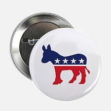 "Democrat Donkey 2.25"" Button"