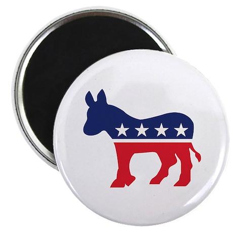 "Democrat Donkey 2.25"" Magnet (100 pack)"