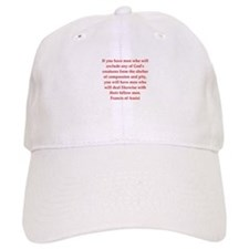 Saint Francis of Assisi Baseball Cap