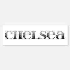 Chelsea Carved Metal Bumper Bumper Bumper Sticker