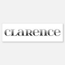 Clarence Carved Metal Bumper Bumper Bumper Sticker
