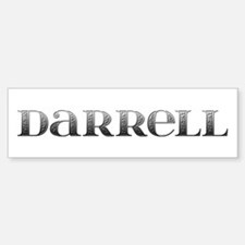 Darrell Carved Metal Bumper Bumper Bumper Sticker