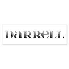 Darrell Carved Metal Bumper Bumper Sticker
