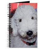 Bedlington terrier Journals & Spiral Notebooks