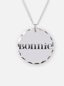 Bonnie Carved Metal Necklace