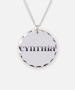 Cynthia Carved Metal Necklace