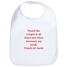 Saint Francis of Assisi Bib