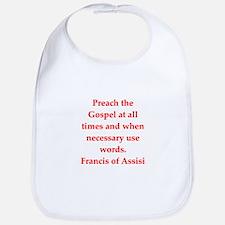 Saint Francis of Assisi Bib