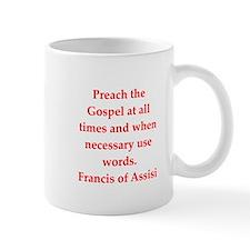 Saint Francis of Assisi Small Mug