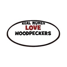 Real Women Love Woodpeckers Patches