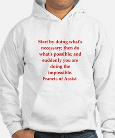 Saint Francis of Assisi Hoodie