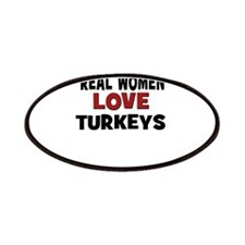 Real Women Love Turkeys Patches