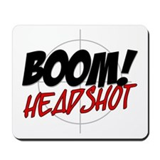 Boom! Headshot Mousepad