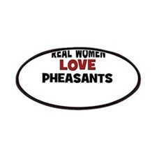 Real Women Love Pheasants Patches