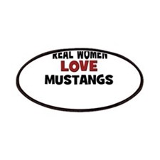 Real Women Love Mustangs Patches