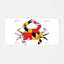Maryland Crab Aluminum License Plate