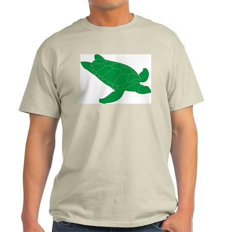 Turtle207 Ash Grey T-Shirt