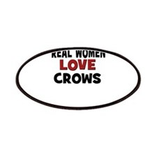 Real Women Love Crows Patches