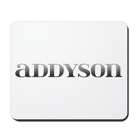 Addyson Carved Metal Mousepad