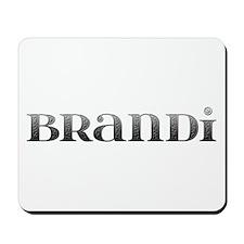 Brandi Carved Metal Mousepad