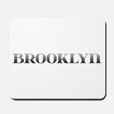 Brooklyn Carved Metal Mousepad