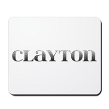 Clayton Carved Metal Mousepad