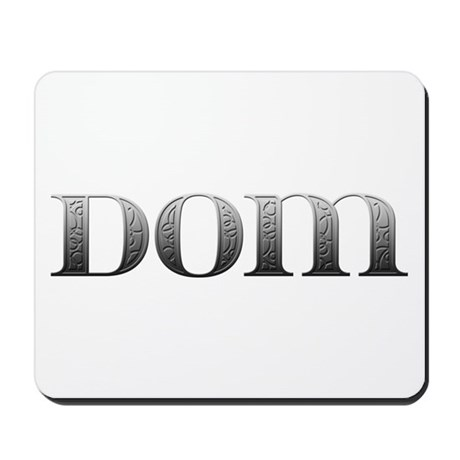 Dom Carved Metal Mousepad