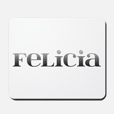 Felicia Carved Metal Mousepad